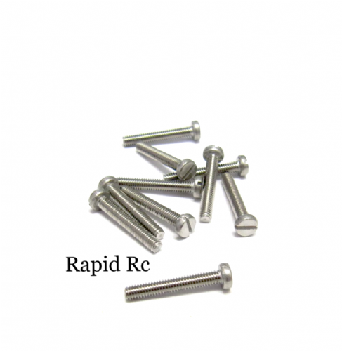 M2.5 x 16mm Stainless Steel Phillips Head Machine Screw